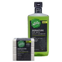 Save $1.50 on Irish Spring Signature for Men Body Wash or Bar Soap