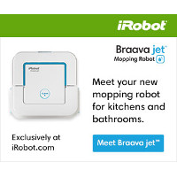 Introducing the Brand New iRobot Braava jet Mopping Robot exclusively at iRobot.com!