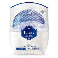 Print a coupon for $2 off one Ivory Duo Dual-Sided Body Cleanser