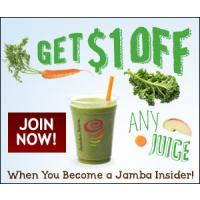 Save $1 on any Jamba Juice at Home Smoothie Kit