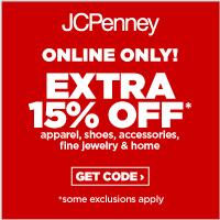 Save at JCPenney with an extra 15% off at jcp.com