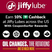 Get 10% Cash Back at participating Jiffy Lube locations when you pay for services with your linked Credit or Debit Card
