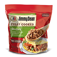 Print a coupon for $0.75 off any Jimmy Dean Fully Cooked Refrigerated product