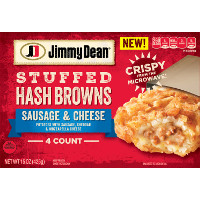 Print a coupon for $1 off any Jimmy Dean Stuffed Hash Browns product