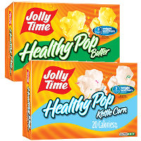 Print a coupon for $1 off two Jolly Time Popcorn products