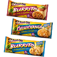 BOGO - Buy two Jose Ole Burritos or Chimichangas, get one free