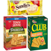 Print a coupon for $1 off two packages of Keebler Club Crackers