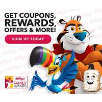 Get coupons and rewards for your favorite Kellogg's Brands and More