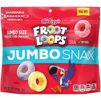 Print a coupon for $1 off one New Kellogg's Jumbo Snax product