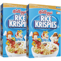 Save $1 on two boxes of Kellogg's Rice Krispies Cereal