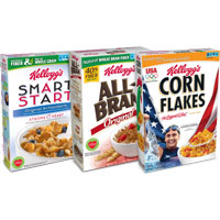 Save $1 on any 3 Kellogg's Cereals