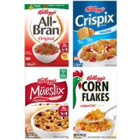 Save $1 on any three Kellogg's Brand Cereals