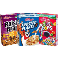 Print a coupon for $3 off five boxes of Kellogg's Cereal