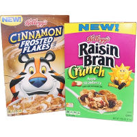 Print a coupon for $1 off any two boxes of Kellogg's Raisin Bran Crunch or Cinnamon Frosted Flakes Cereals
