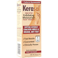 Save $1 on one Kerasal Exfoliating Foot Moisturizer