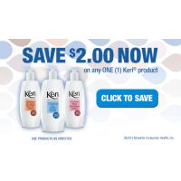 Save $2 on any Keri Lotion product