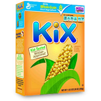 Save $0.75 on any box of Kix Cereal