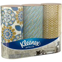 Save $0.75 on one bundle pack of Kleenex Perfect Fit Facial Tissues