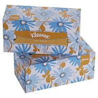 Print a coupon for $0.50 off two boxes of Kleenex Tissues
