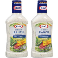 Print a coupon for $1 off any two Kraft Salad Dressings, 16oz. or larger