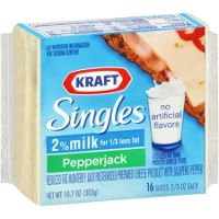 Print a coupon for $0.75 off a pack of Kraft Singles, Pepper Jack and Mozzarella Singles