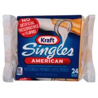Print a coupon for $0.50 off any pack of Kraft Singles