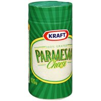 Save $0.75 on one canister of Kraft Grated Parmesan Cheese