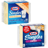 Save $1 on two packs of Kraft Singles