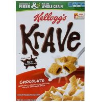Print a coupon for $0.40 off one box of Kellogg's Krave Cereal