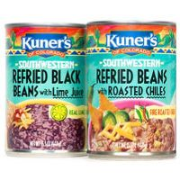 Print a coupon for $1 off two cans of Beans from Kuner's, Luck's, Mrs. Grimes and more