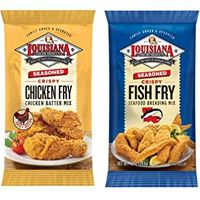 Print a coupon for $1 off two Louisiana Fish Fry Breading Mixes