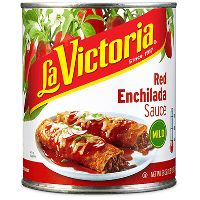 Print a coupon for $0.55 off a can of La Victoria Enchilada Sauce