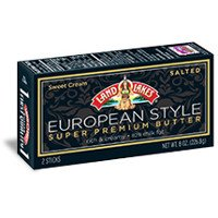 Print a coupon for $0.75 off one package of Land O Lakes European Super Premium Butter