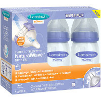 Save $3 on one 3-pack of 5oz or 8oz Lansinoh mOmma Bottles