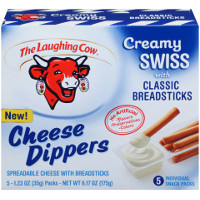 Print a coupon for $1 off The Laughing Cow Cheese Dippers