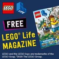 Get The FREE LEGO Life Magazine
