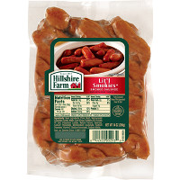 Print a coupon for $0.55 off one pack of Hillshire Farm Lit'l Smokies