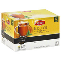 Save $1 on any package of Lipton Tea K-Cups