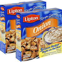 Print a coupon for $0.60 off any two Lipton Recipe Secrets