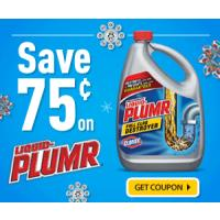 Print a coupon for $0.75 off one Liquid-Plumr product