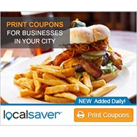 Print Coupons for your Favorite Local Restaurants such as Pizza Hut - NEW Coupons Added Daily at LocalSaver