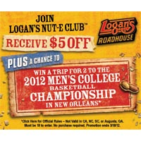 Logan's Roadhouse coupon - Click here to redeem