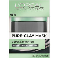 Print a coupon for $1 off any L'Oreal Paris Pure Clay Mask or Cleanser Product