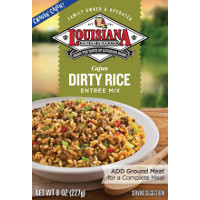 Print a coupon for $1 off any Louisiana Fish Fry Rice Mix