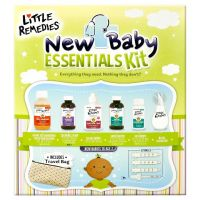 Print a coupon for $4 off Little Remedies New Baby Essentials Kit