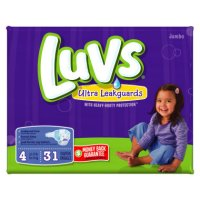 Save $0.50 on one package of Luvs Diapers