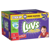 Print a coupon for $2 off Luvs Diapers