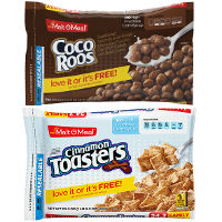 Print a coupon for $1 off any two bags of Malt-O-Meal Cereal