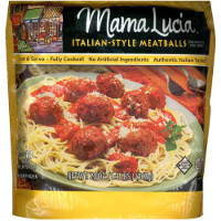 Save $1 on a bag of Mama Lucia Frozen Meatballs, 20oz or larger