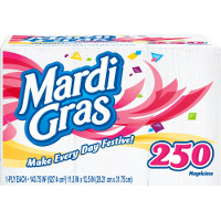 Print a coupon for $0.50 off Mardi Gras Napkins